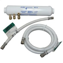 Poly-Flex Ice Maker Connector Kit with Water Filter