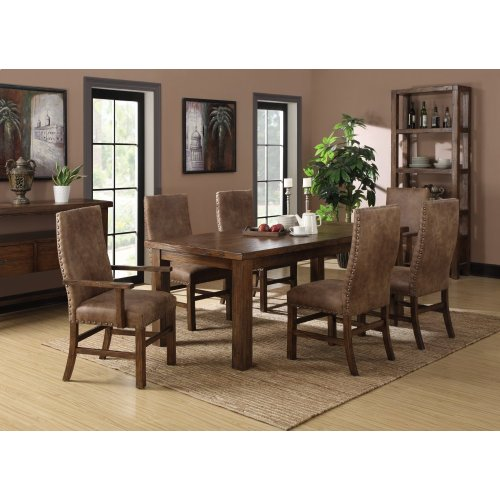 Emerald Home Chambers Creek 8-piece Dining Set Brown D412-10-8pcset1-k