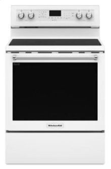 RED HOT BUY-BE HAPPY! 30-Inch 5-Element Electric Convection Range - White