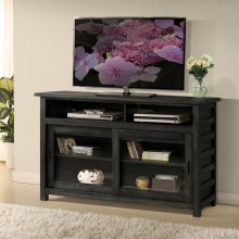 Perspectives - 54-inch TV Console - Ebonized Acacia Finish
