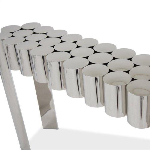 La Tania Console Table - Silver