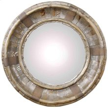 Tuscany Round Mirror, Rustic Natural