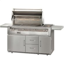 "56"" Standard Grill on Refrigerated Base, Size Bruner, Sear Zone"