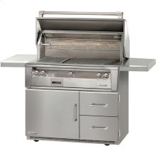 """42"""" Standard Grill on Refrigerated Base Sear Zone"""