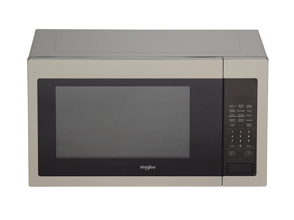 Wmc30516hz Whirlpool 1 6 Cu Ft Countertop Microwave With
