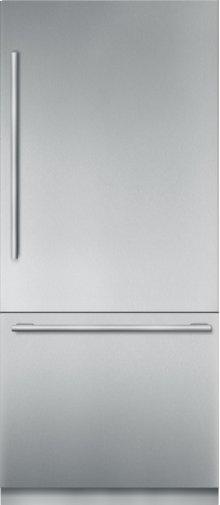 36 inch Stainless Steel Built in 2 Door Bottom Freezer, Pre-Assembled, Masterpiece® Handle T36BB910SS