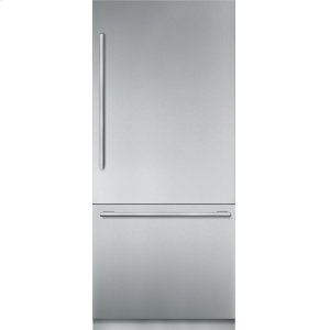 THERMADOR36 inch Stainless Steel Built in 2 Door Bottom Freezer, Pre-Assembled, Masterpiece(R) Handle T36BB910SS