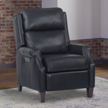 Dixon Navy Power High Leg Recliner