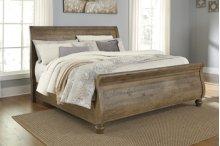 Trishley - Light Brown 3 Piece Bed Set (Queen)
