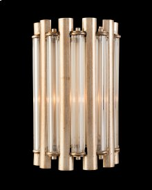 Crystal Tube One-Light Wall Coupe