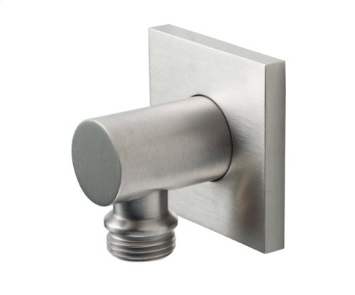 Decorative Supply Elbow - Square Base - Satin Nickel
