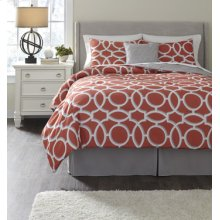King TOB Set Clairette - Coral Collection by Ashley Houston, Dallas, San Antonio and Austin Texas
