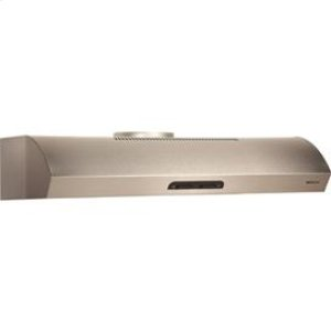 "Broan 300 CFM 36"" wide Undercabinet Range Hood in Stainless Steel"