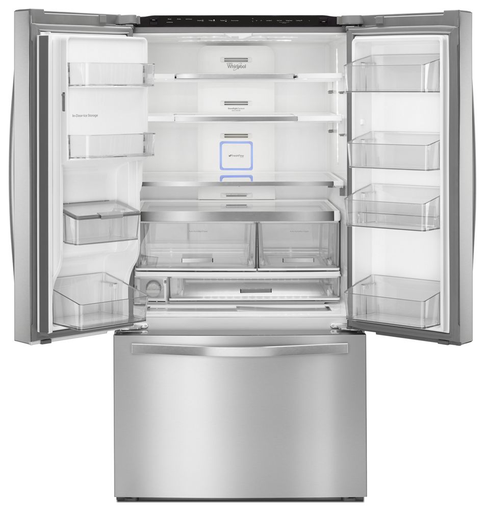 Wrf995fifzwhirlpool 36 Inch Wide French Door Refrigerator With
