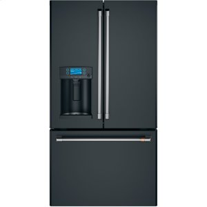 Cafe AppliancesENERGY STAR ® 22.2 Cu. Ft. Smart Counter-Depth French-Door Refrigerator with Hot Water Dispenser