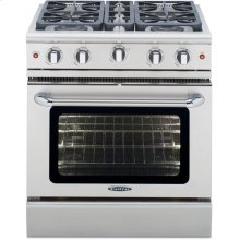 "30"" Gas Convection Range with 4 Sealed Burners 19K BTU"