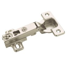Self-closing, Concealed Full Overlay Hinge