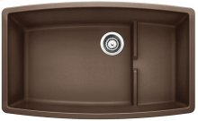 Blanco Performa Cascade Super Single Bowl - Café Brown