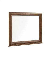 Attic Heirlooms Dresser Mirror, Natural Oak Stain