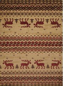 Affinity Embroided Moose Natu Rugs