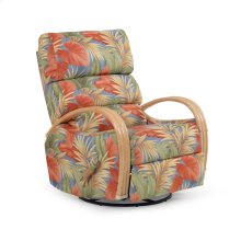 Swivel Glider Recliner Natural Finish 883SGR