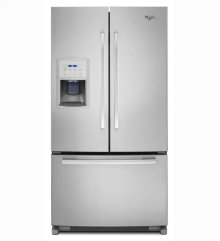 Slightly Damaged Whirlpool 20 cu. ft. Wide Gold® Counter-Depth French Door Refrigerator