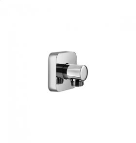 Handshower Wall Outlet - Polished Chrome