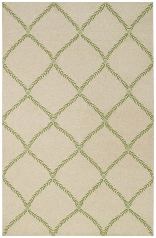 Arabella Spring Green Hand Knotted Rugs