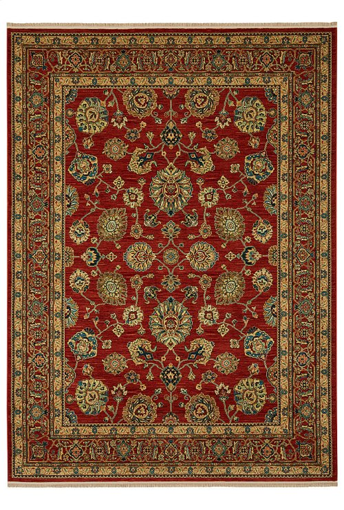 Sultana Red Rectangle 10ft x 14ft