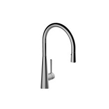 Conical Pull-Down Bar/Prep Faucet
