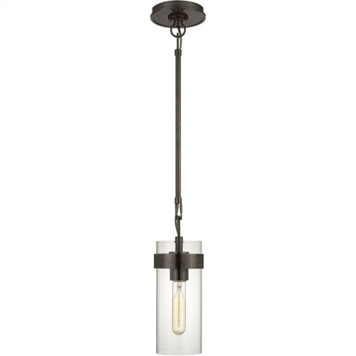 Visual Comfort S5672BZ-CG Ian K. Fowler Presidio 1 Light 4 inch Bronze Pendant Ceiling Light, Petite