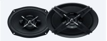 6 x 9 in (16 x 24 cm) High Power 3-way Speakers