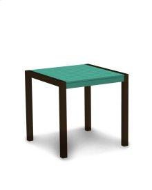 "Textured Bronze & Aruba MOD 30"" Dining Table"