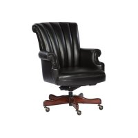 Black Leather Executive Chair Product Image