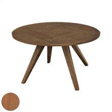 Round Teak Patio Table