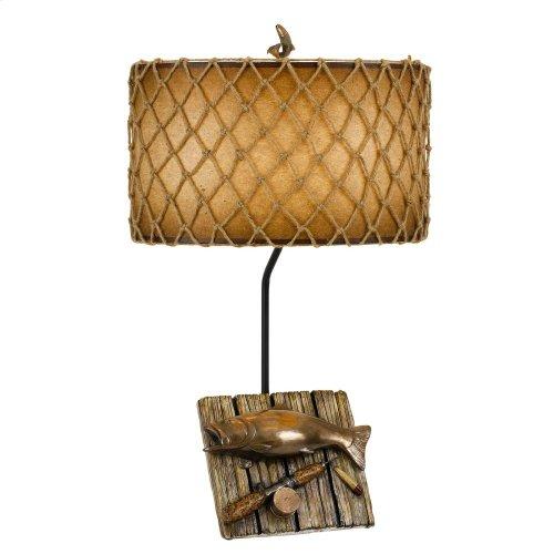 150W Fishing Resin Table Lamp