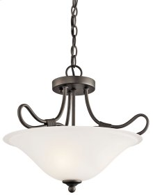 Stafford 2 Light Convertible Inverted Pendant Olde Bronze®