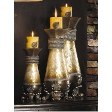 3 PC. CANDLE HOLDER SET