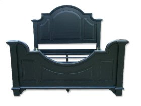 Chesapeake Queen Bed - Blk