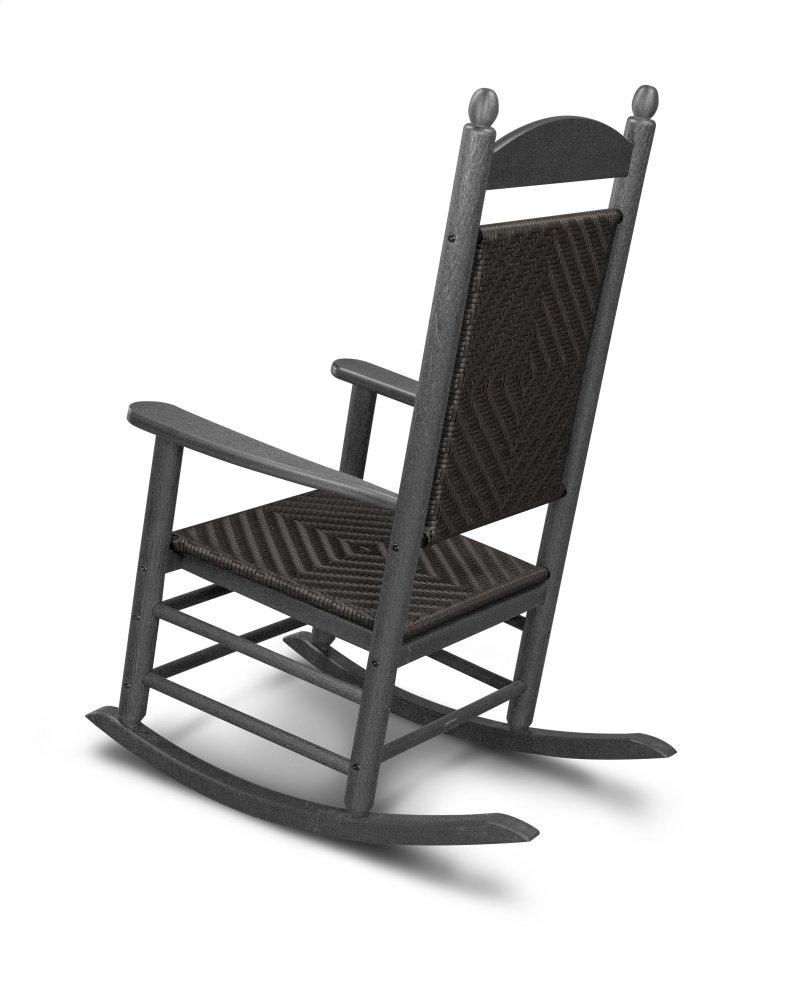 Green U0026 Cahaba Jefferson Woven Rocking Chair