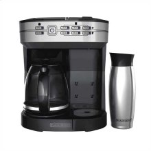 Cafe Select Dual Brew Coffeemaker with Travel Mug