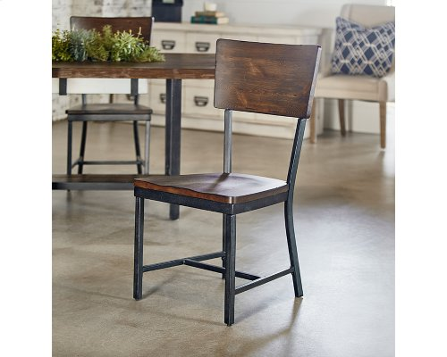 Milk Crate Contour Side Chair
