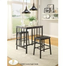3pc/1 Pack Counter-height Set