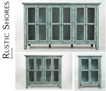 "Rustic Shores Surfside 70"" Accent Cabinet"