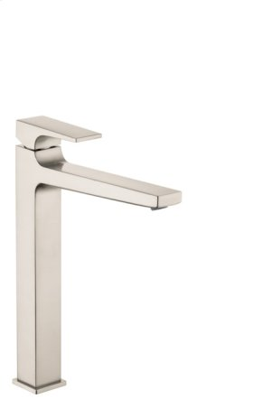 Brushed Nickel Metropol 260 Single-Hole Faucet with Lever Handle without Pop-Up, 1.2 GPM