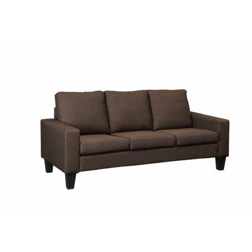 Bachman Transitional Chocolate Sofa