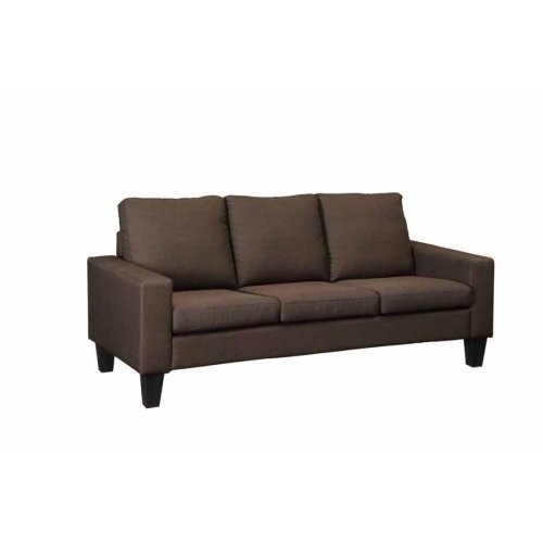 Bachman Transitional Chocolate Sofa