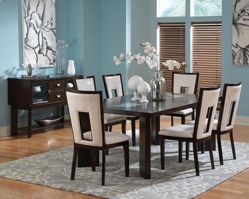 """Delano Table, 44""""x60""""x78"""" w/ 18 """" Leaf"""