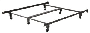 CraftLock 166R King Bed Frame with Rollers