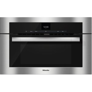 Miele30 Inch Speed Oven with combi-modes and Roast probe for precise-temperature cooking.